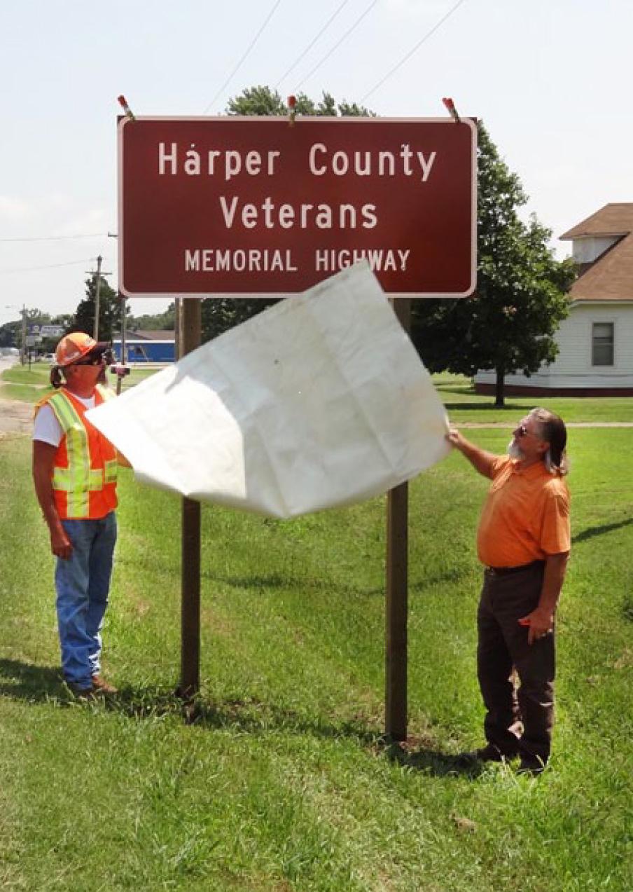 Kansas harper county attica - Kdot Harper Harper County Veterans Memorial2